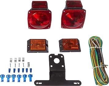 MAXXHAUL 70094 12V Trailer Light Kit (for Trailers Under 80