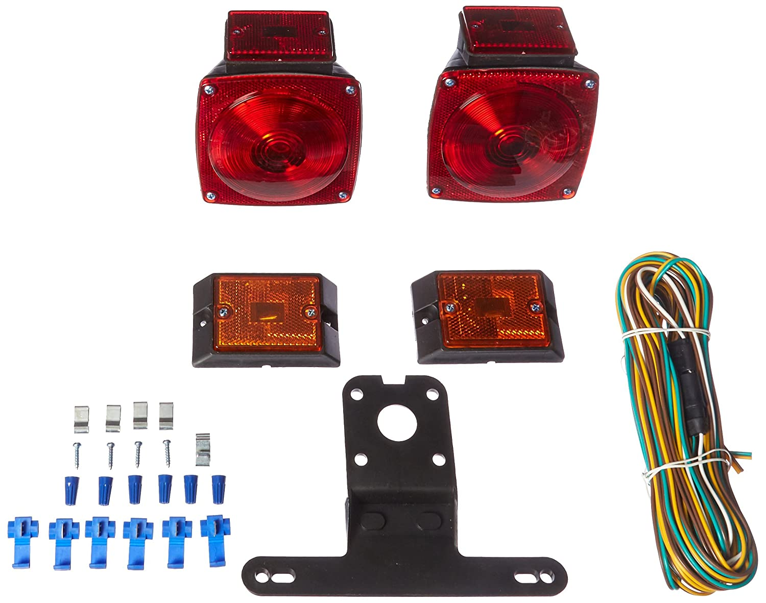 Maxxhaul 70094 12v Light Kit For Trailers Under 80 Stop Lights 4 Wire Wiring Harness Automotive