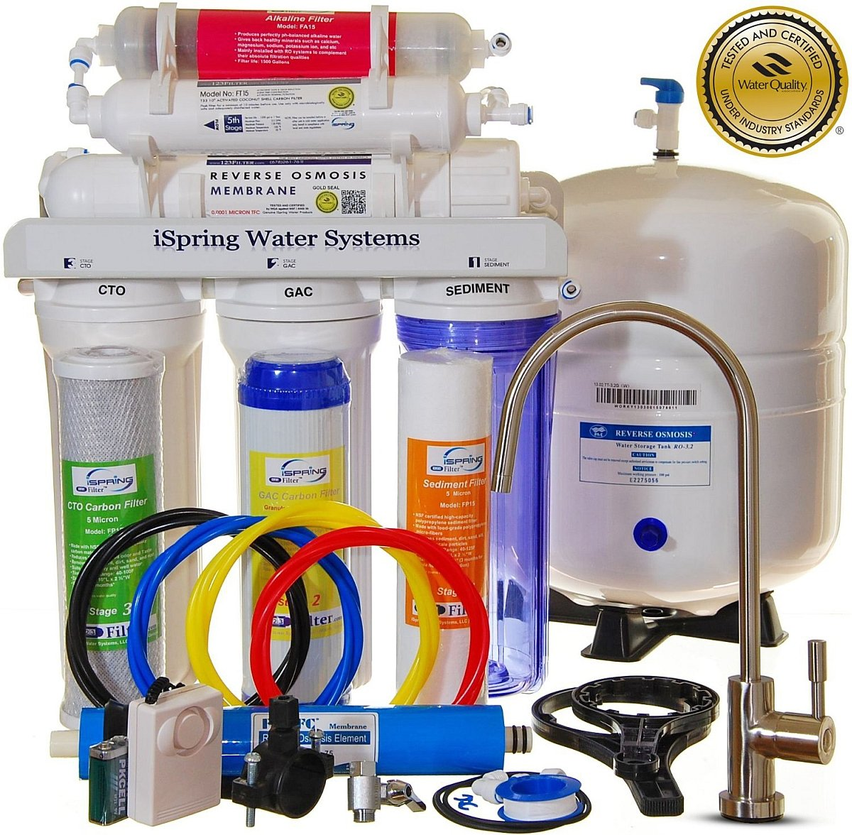 Reverse Osmosis 6 Stage