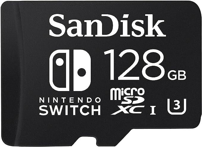 SanDisk - Tarjeta microSDXC de 128 GB para Nintendo Switch ...