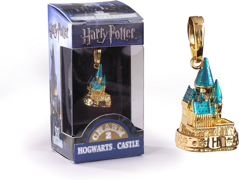 The Noble Collection Lumos Charm 2 Castillo de Hogwarts de Color Dorado