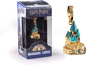 The Noble Collection Lumos Harry Potter Charm No. 2 - Hogwarts Castle (Gold Plated)