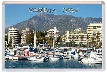 Kühlschrank Querformat : Marbella u2013 costa del sol u2013 spanien u2013 jumbo kühlschrank magnet
