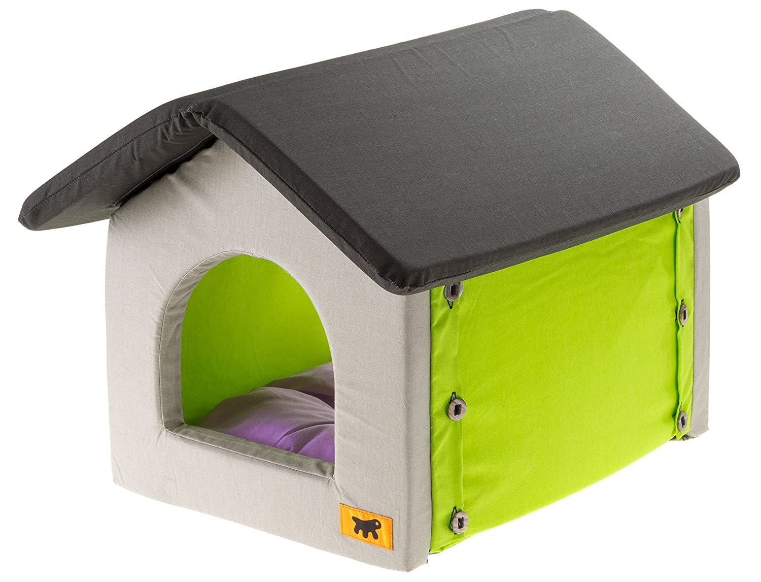Ferplast Casetta Cat Bed, 36 x 46 x 40 cm
