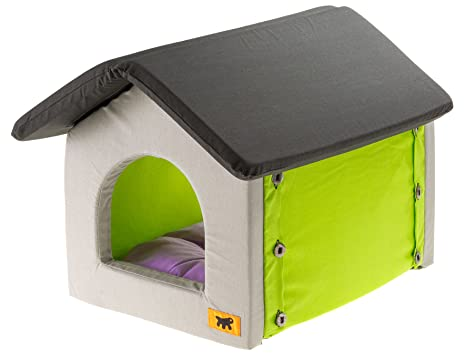 Amazon.com: Ferplast Casetta - Cama para gatos (14.2 x 18.1 ...