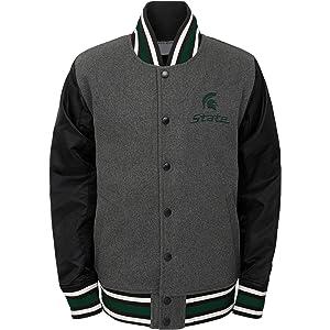 Gaorui Boys Hooded Parka Fleece Lined Jacket Winter Cotton Coat Warm Outerwear for 3-13 Years Old