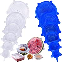 12-Pack Mavgv Reusable Silicone Stretch Lids