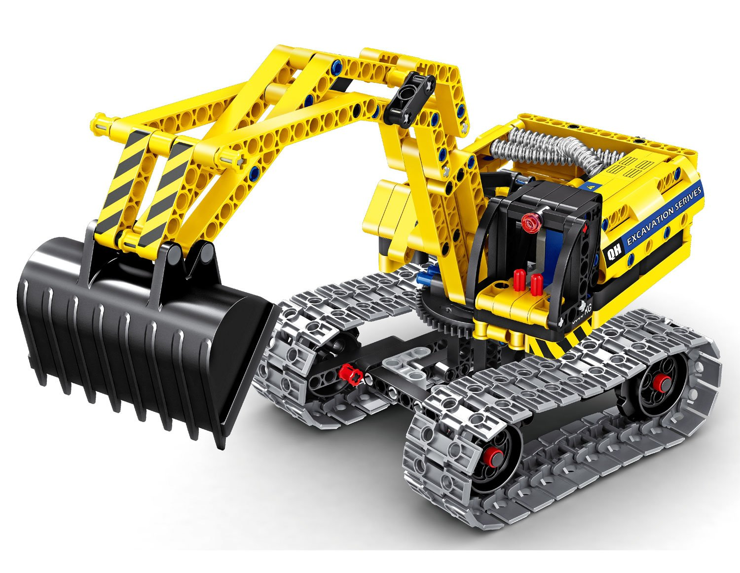 Bo Toys Building Bricks STEM Toy, 342 Pcs Excavator & Robot Construction Blocks, Build It Yourself Toys Review