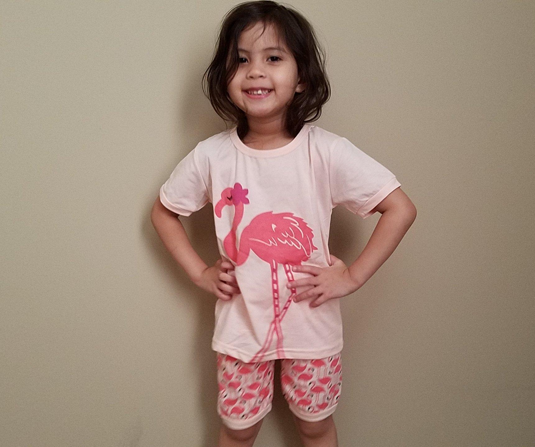Tarkis Girls Pyjamas Set Animal Printed Short Cotton PJS for Kids 2 to 7 Years