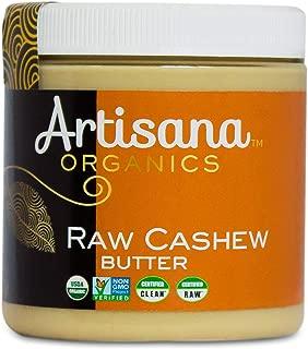 product image for Artisana Organics Non GMO Raw Cashew Butter, 9.5 oz | No Sugar Added, Vegan and Paleo Friendly