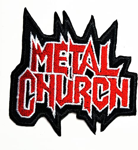 Metal Iglesia música banda Heavy Metal Punk Rock Logo hierro en ...