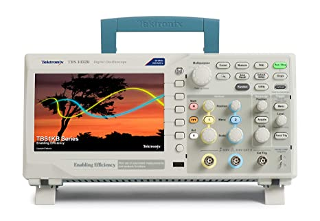 Tektronix TBS1032B Digital Storage Oscilloscope, 2 Channel, 30 MHz  Bandwidth, 5 Year Warranty