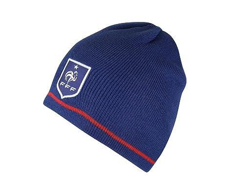 2703cf1b511 Equipe de FRANCE de football Bonnet FFF - Collection Officielle Taille  Adulte Homme  Amazon.fr  Sports et Loisirs