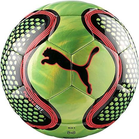 Puma FUTURE Net Tiempo Libre pelota de tamaño 3 Amarillo de color ...