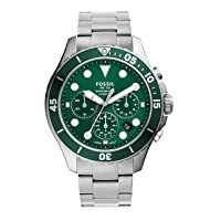Men's FB-03 Stainless Steel Casual Quartz Watch
