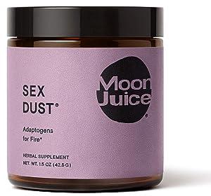 Moon Juice - Sex Dust - Libido Support & Hormonal Balance - Natural Adaptogenic Powder Supplement - Maca, Epimedium (Horny Goat Weed), Cacao & Shilajit - Vegan, Non-GMO, Gluten-Free (1.5oz)