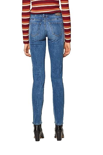 ESPRIT Jeans Straight Donna: Amazon.it: Abbigliamento