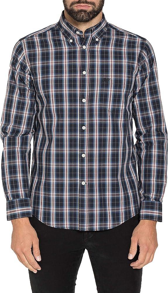 Carrera Jeans - Camisa para Hombre, a Cuadros ES XL: Amazon.es: Ropa y accesorios