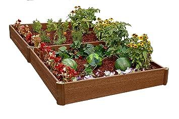 Charming Amazon.com : Greenland Gardener 8 Inch Raised Bed Double Garden Kit : Garden  U0026 Outdoor