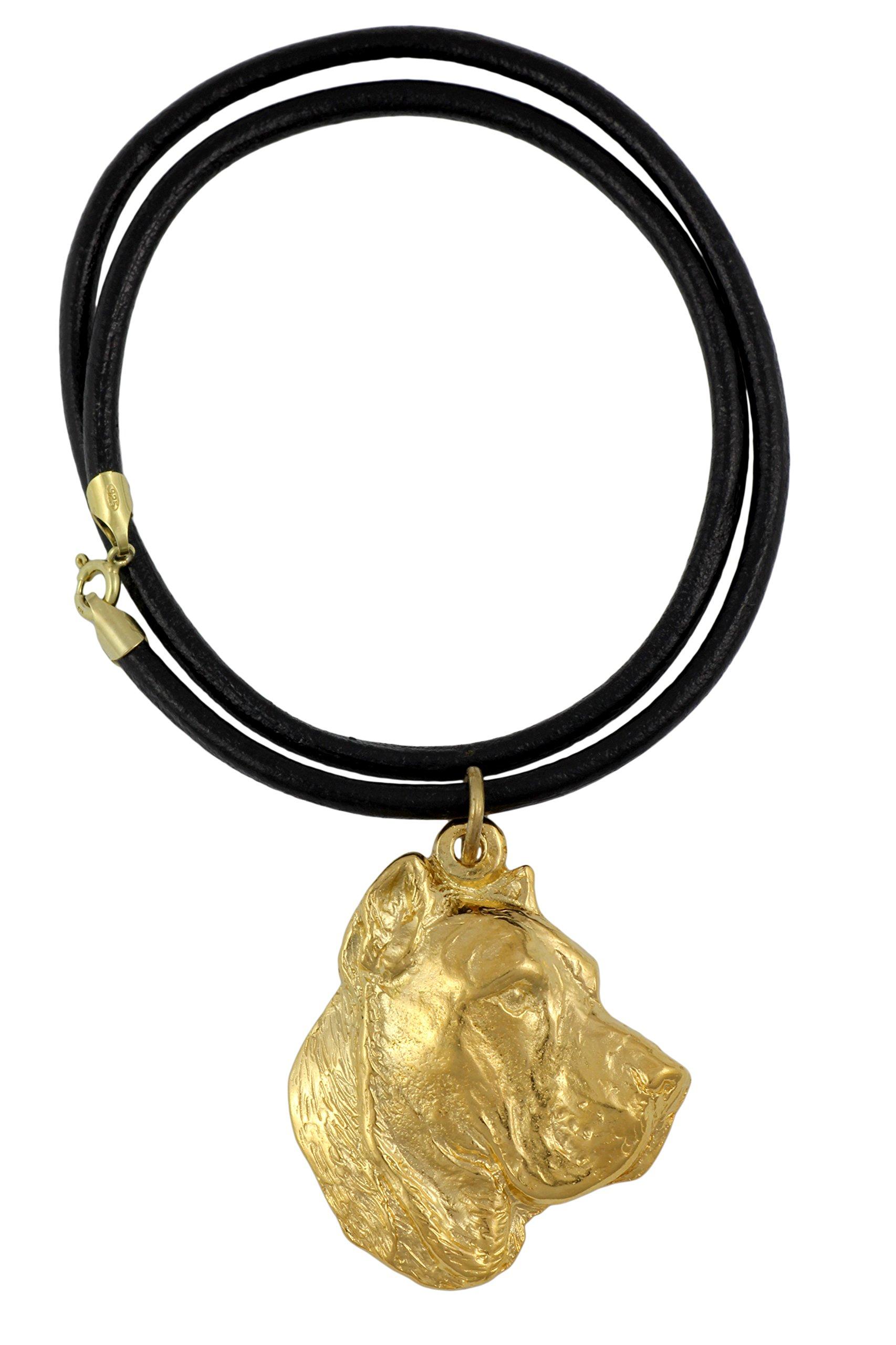 Presa Canario, Perro De Presa Canario, Millesimal Fineness 999, Dog Necklaces, Limited Edition, Artdog
