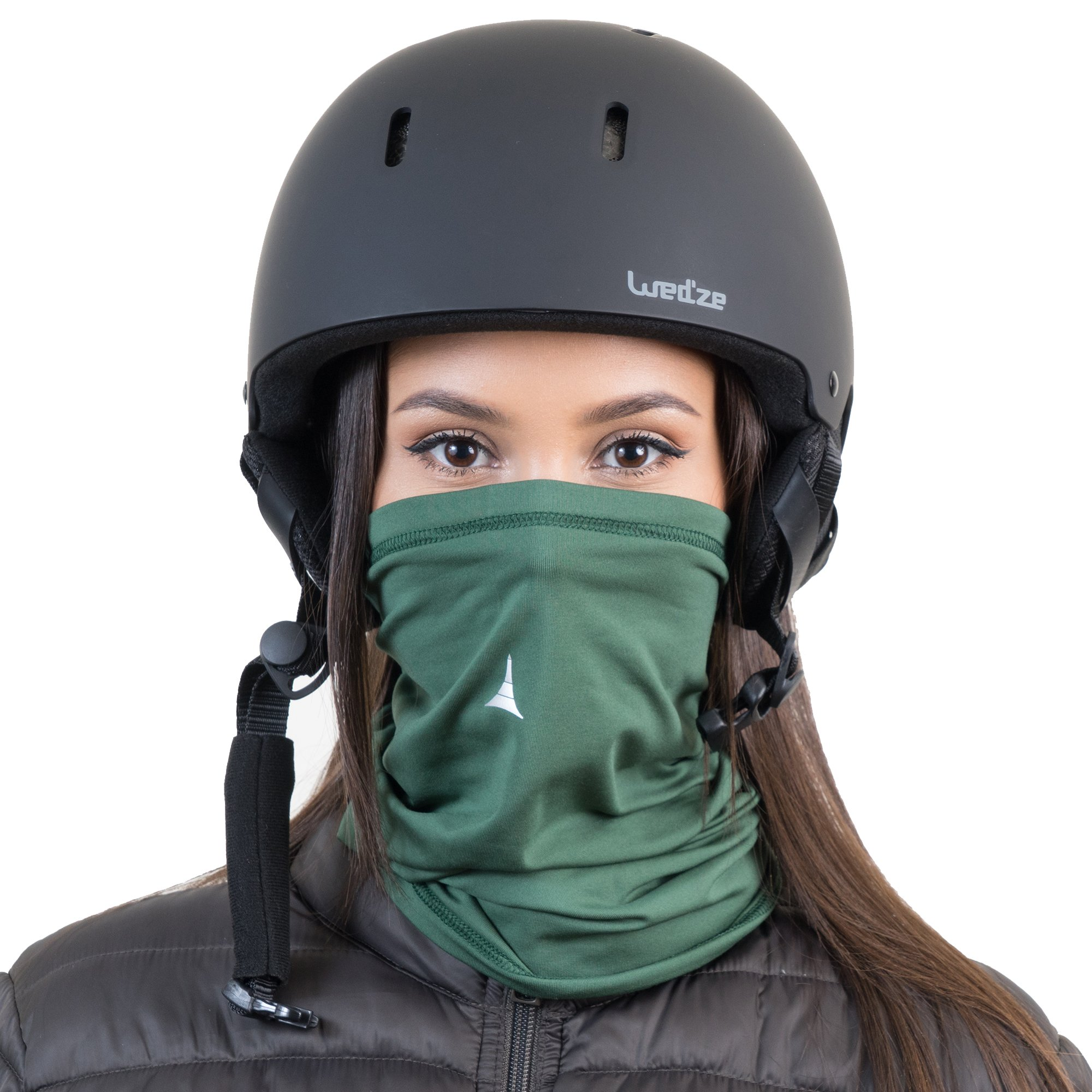 Fleece Neck Warmer [Solids] / Reversible Neck Gaiter Tube, Ear Warmer Headband, Mask & Beanie. Ultimate Thermal Retention, Versatility & Style. Performance Comfort Fleece & Polyester Construction