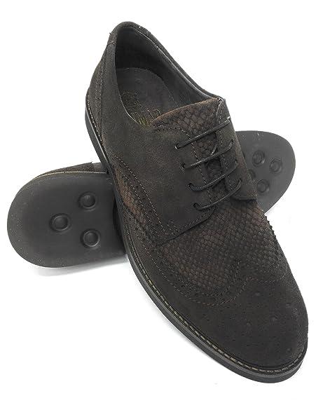 96388967 Zerimar Zapato Para Caballeros EN Piel Oxford Piel Forro Interior EN Piel  Zapato de Hombre: Amazon.es: Zapatos y complementos