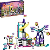 LEGO Friends Magical Ferris Wheel and Slide 41689 Building Kit for Kids Theme Park with 3 Mini-Dolls; New 2021 (545 Pieces)