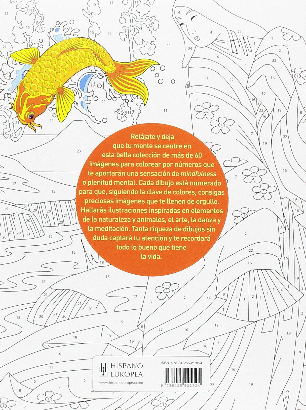 Colorea por números para mindfulness: Amazon.es: David Woodroffe: Libros