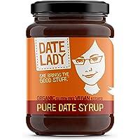 Date Lady Organic Date Syrup 12 Ounce Glass Jar | Vegan, Paleo, Gluten-free & Kosher
