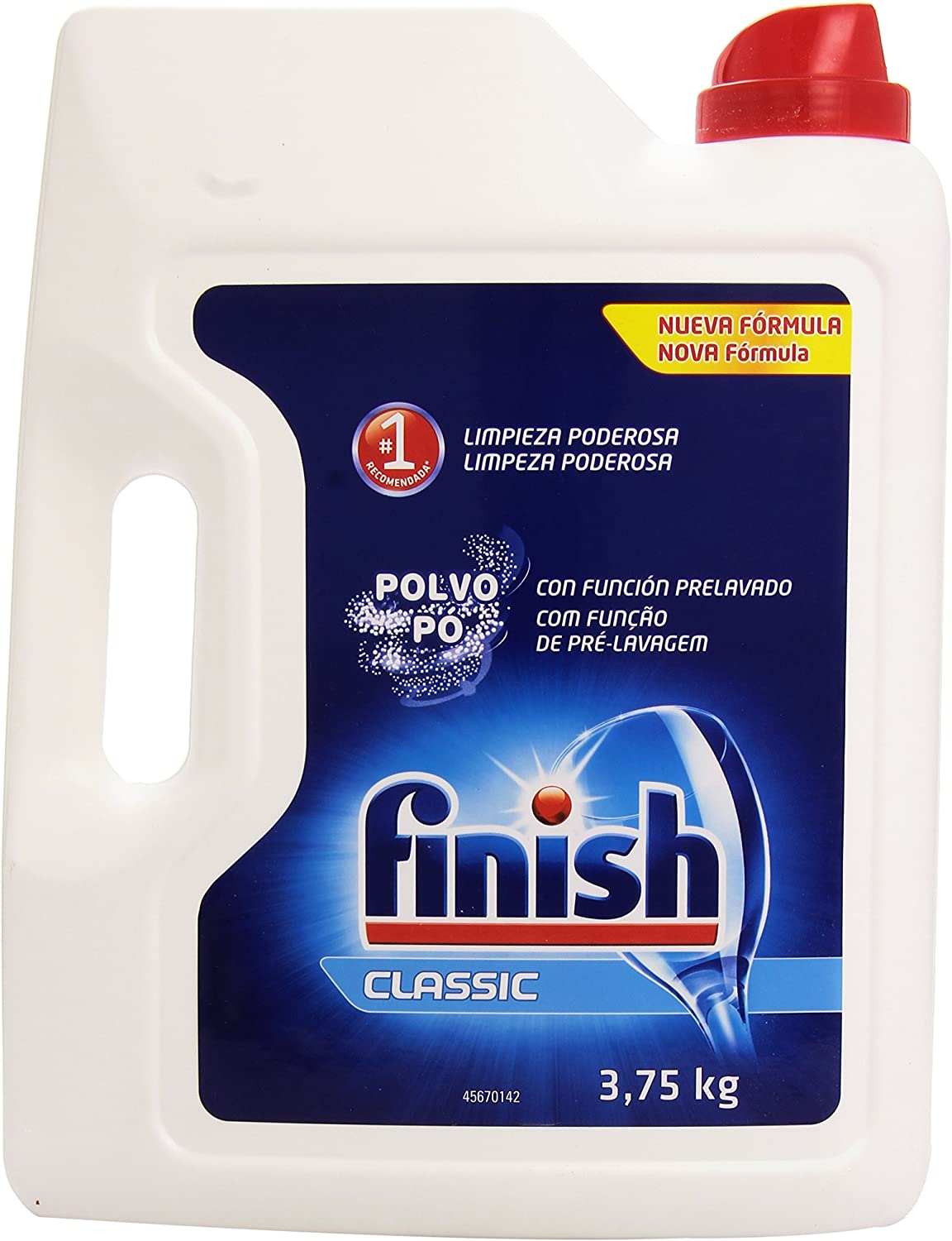 Finish Detergente Lavavajillas Polvo - 3,75 kg: Amazon.es: Amazon ...