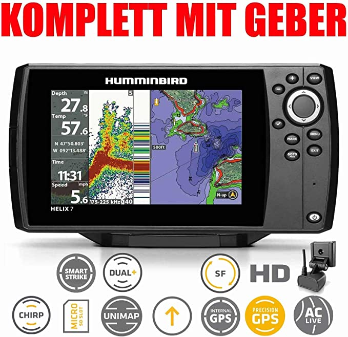Humminbird Helix 7 Chirp Gps G2 Echolot Elektronik