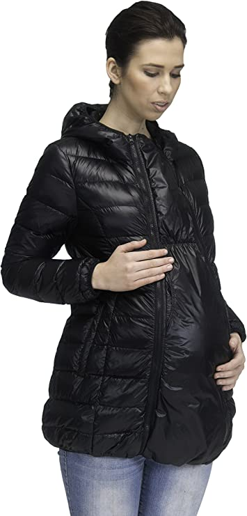 Modern Eternity Maternity Jacket Down Filled W 3 In 1 Tech Ashley At Amazon Women S Clothing Store