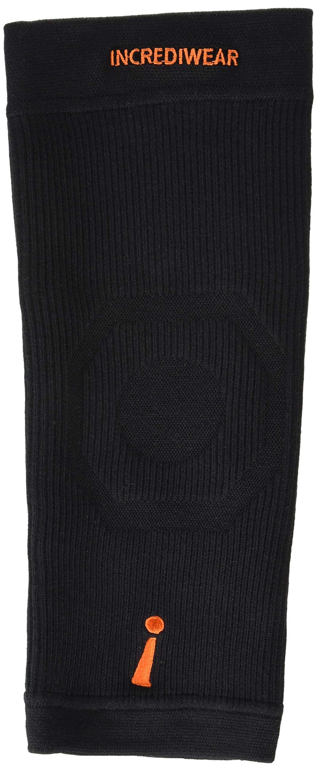 INCREDIWEAR Knee Sleeve, Black, Large, 0.03 Pound