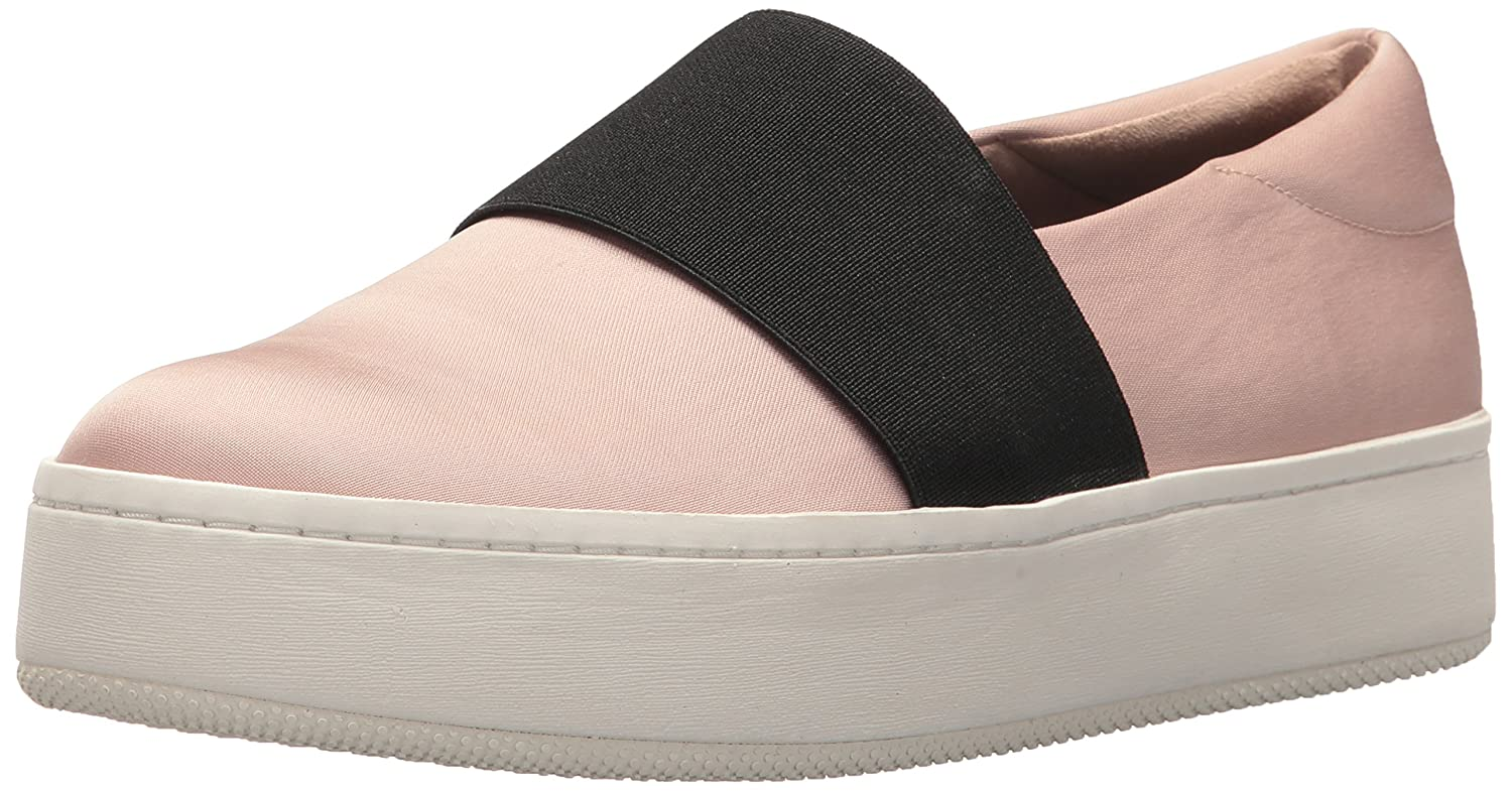 Via Spiga Women's Traynor Slip Sneaker B075366D6K 9.5 B(M) US|Blush Canvas