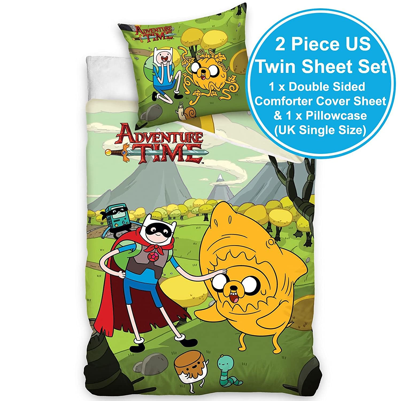 Adventure Time singolo copripiumino e federa set