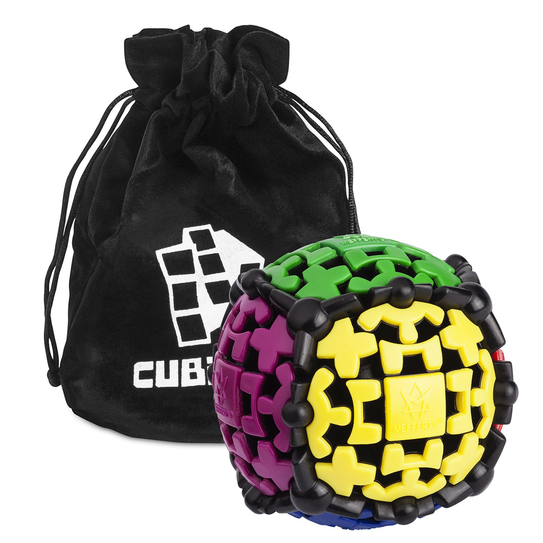 Zauberwü rfel - Gear Ball - Gearball (Zahnrad-Drehball) - inkl. Cubikon-Tasche Cubikon Art.-Nr. 9554