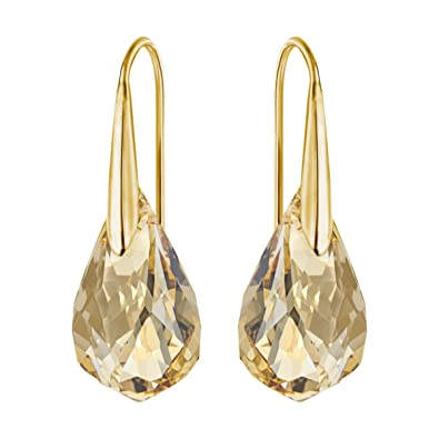 thinkgeek wonder image earrings gold zoom woman iosn onmodel product click additional stud to