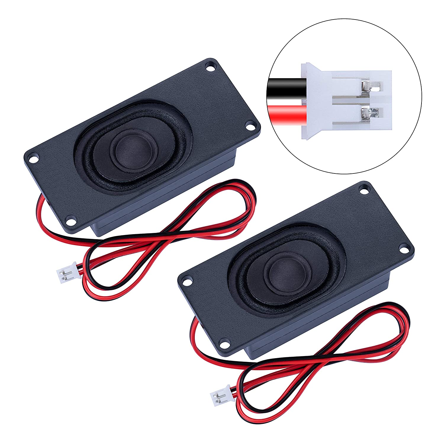 CQRobot Speaker 5 Watt 8 Ohm for Arduino JST-PH2.0 Interface It is Ideal for a Variety of Small Electronic Projects.