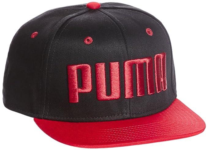ffc723a25 Puma Men's Baseball Cap (5292104_Puma Black-Barbados Cherry_Adult ...