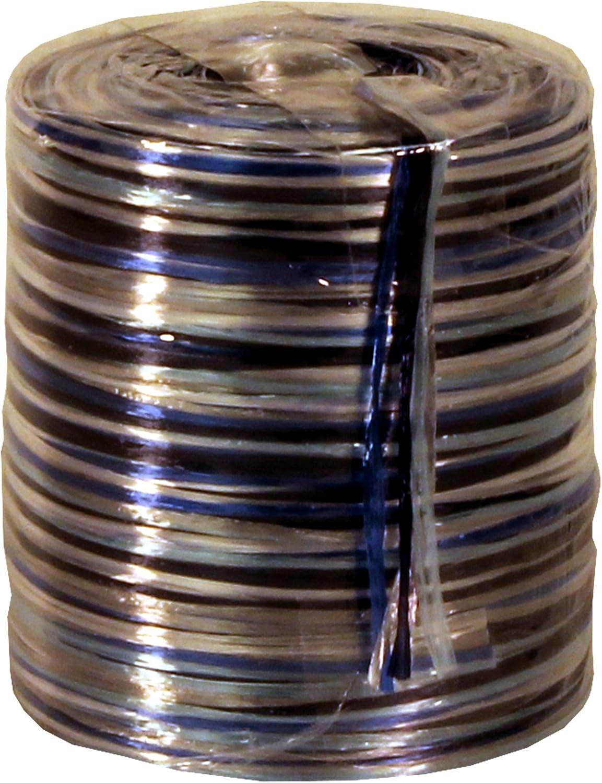 109-Yard Premier Packaging AMZN-76005 Twisters Pearlescent Raffia Ribbon Blue