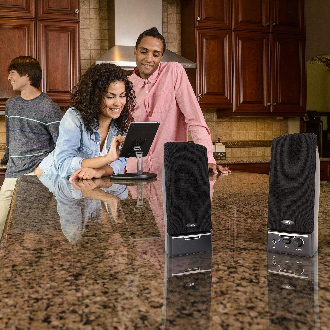 Cyber Acoustics CA-2014 multimedia desktop computer speakers by Cyber Acoustics (Image #6)