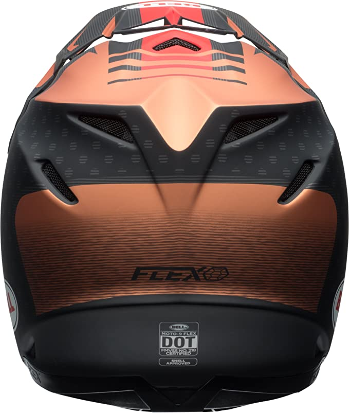 Amazon.com: Bell Moto-9 Flex Off Road Motorcycle Helmet (Blocked Blue, X-Small) (Non-Current Graphic): Automotive