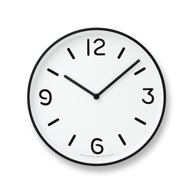 Lemnos MONO Clock ホワイト LC10-20A WH B004UIT8BKホワイト