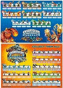 Skylanders Spyro's Adventure & Skylanders Giants Figures Posters Set