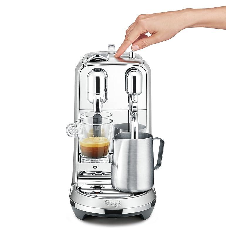 Nespresso Creatista Plus Coffee Machine, Silver by Sage: Amazon.co ...