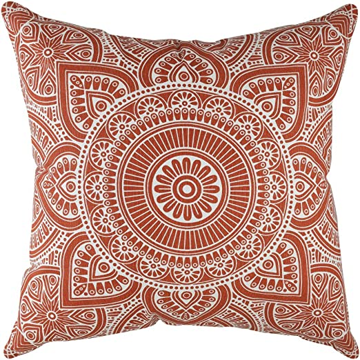 18 By 18 Pillow Cover Wrapping Mehndi