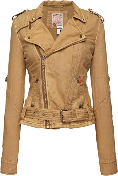khujo Damen Jacke Courtney 1065JK151_113 113 BEIGE, S