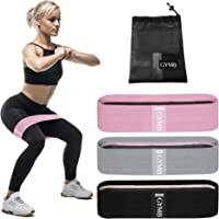 Booty 3 Resistance Bands for Legs and Butt Set, Exercise Bands Fitness Bands - Video Workout, Resistance Loops Hip Thigh…