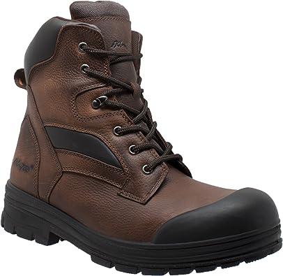 8 W US AdTec Mens 9 Waterproof Logger Brown M//W
