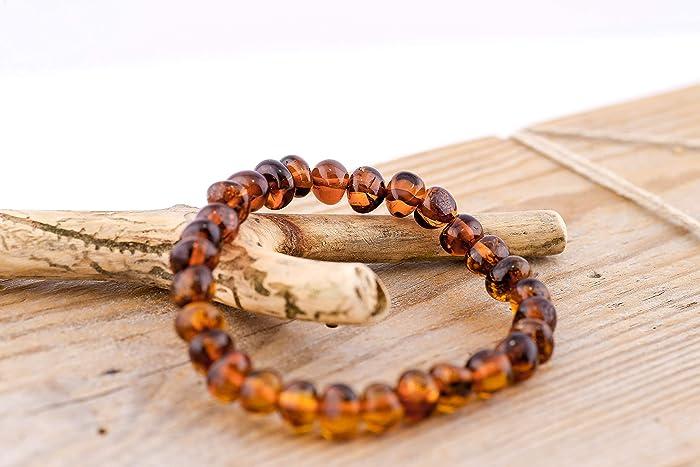 b9bf6cd3e621 100% natural pulsera de ámbar báltico: Amazon.es: Handmade